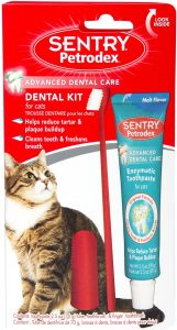 Petrodex Dental Kit and Toothpaste for Cats